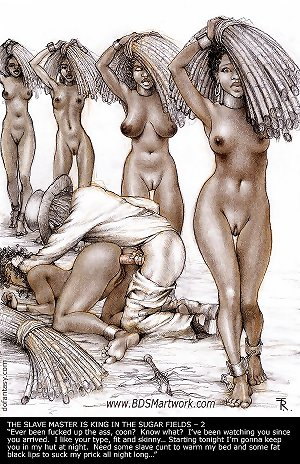 nude women slaves on plantations