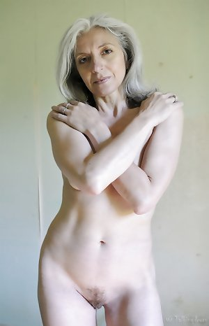 haired nude grey amateur gilf